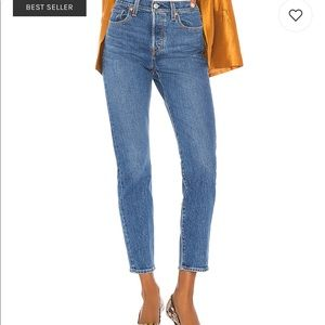 Levi's wedgie icon fit straight leg jean